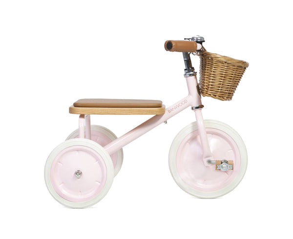 Banwood Trike - Various Colours Tricycle Banwood Pink (dispatch mid May)