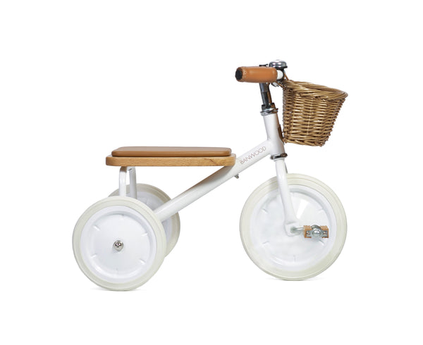 Banwood Trike - Various Colours Tricycle Banwood White