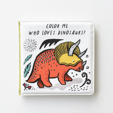 Bath Book Dinosaur Book Wee Gallery