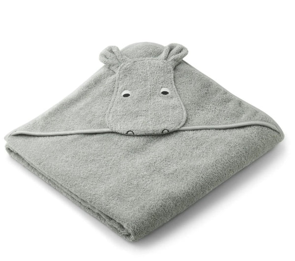 Child's Hooded Animal Towel (various) Towel Liewood Hippo