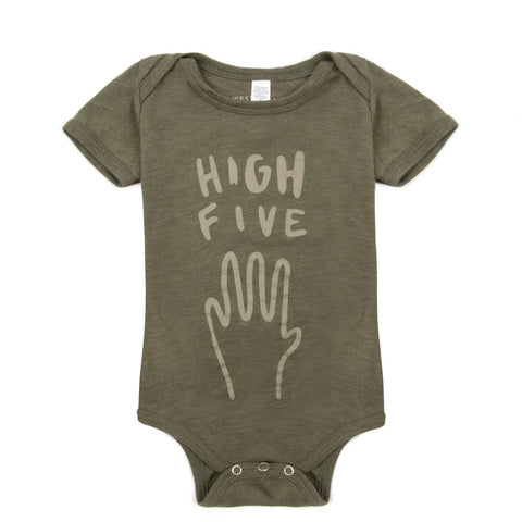High Five Bodysuit - Khaki Bodysuit West Stanton