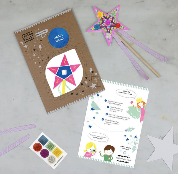 Make Your Own Magic Wand Craft Cotton Twist