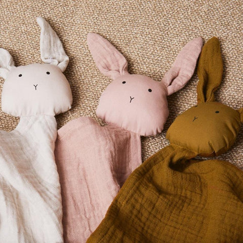 Rabbit Muslin Cloth (Various Colours) Teddy Liewood