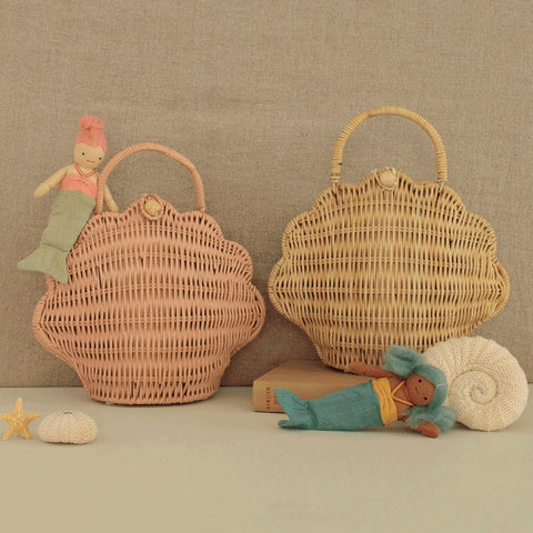 Shell Bag Basket Olli Ella
