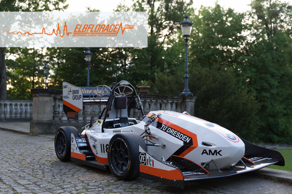 German RepRap X400 Gives Student Formula Racing Team Elbflorace an Edge on their Electric Racing Car