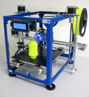 3D printer, German RepRap, dual extruder, GRR, Open Source, PVA, HIPS, ABS, PRotos V3