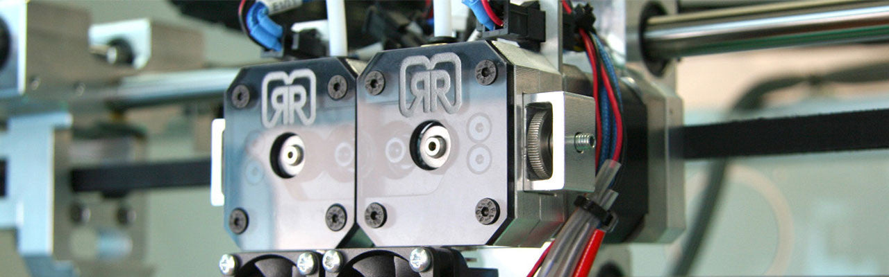 Dual Extruders for German RepRap x400