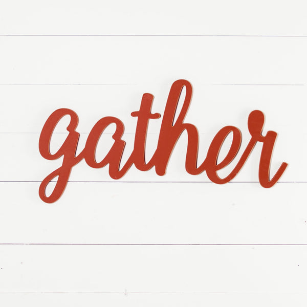 Cursive Gather - 3 Sizes