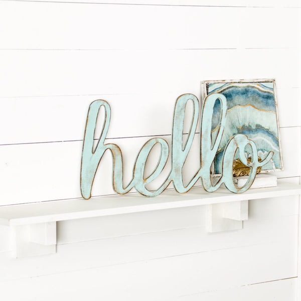 Cursive Hello - 3 Sizes