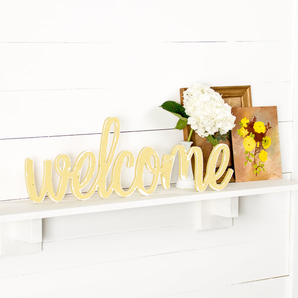 Cursive Welcome