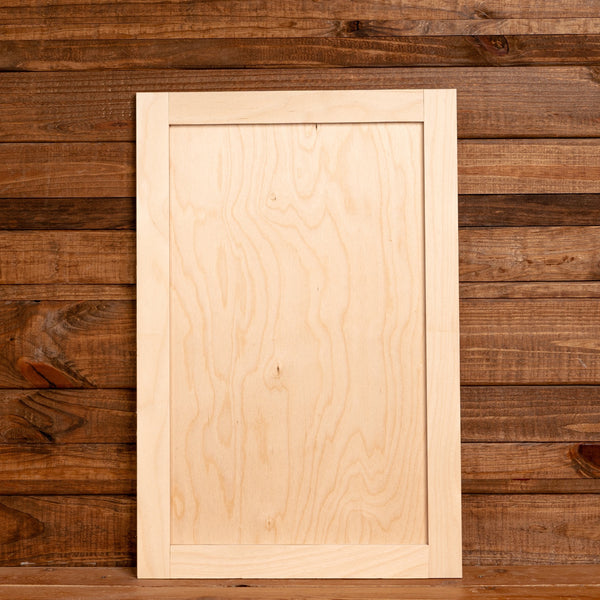 Framed Reversible Plywood Canvas - 12 Sizes
