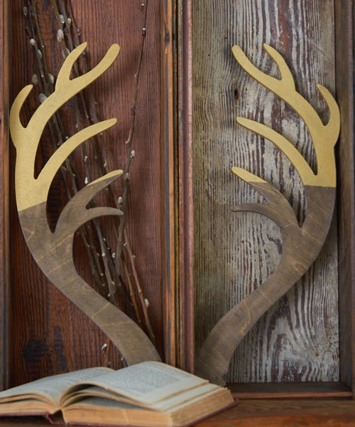 Antler Set, 2 Pieces