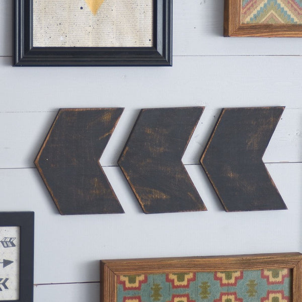 Chevron Arrow Set, 3 Pieces