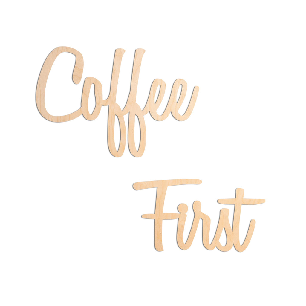 Cursive Coffee First
