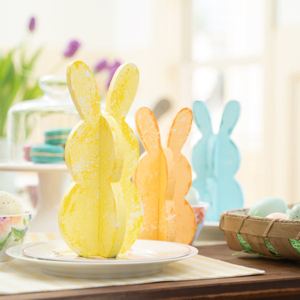 Slotted Bunnies - Set of 3