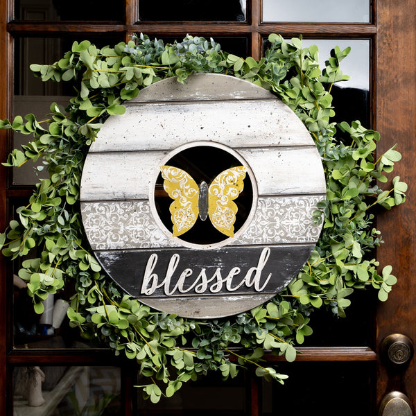 Shiplap Circle Wreath Base