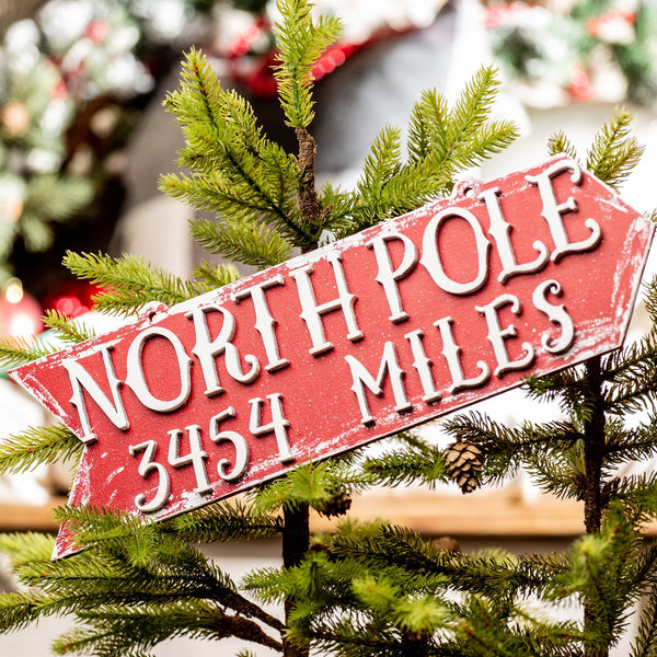 How Far to the North Pole?