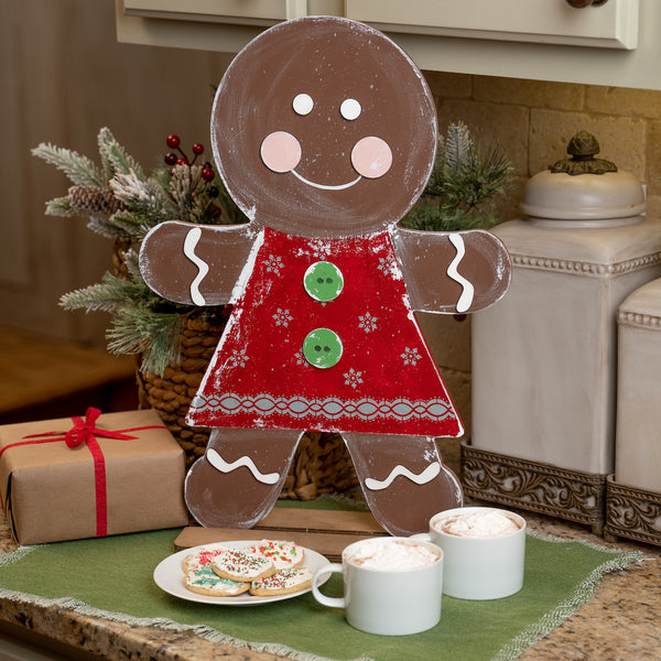 Gingerbread Man or Woman