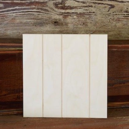 Grooved Square Canvas