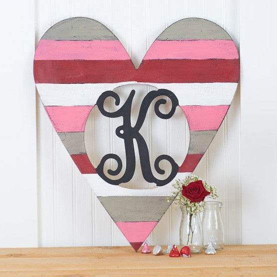 Heart Vine Monogram