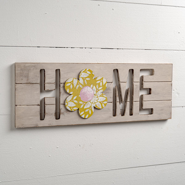 Interchangeable Routed Home Sign Kit