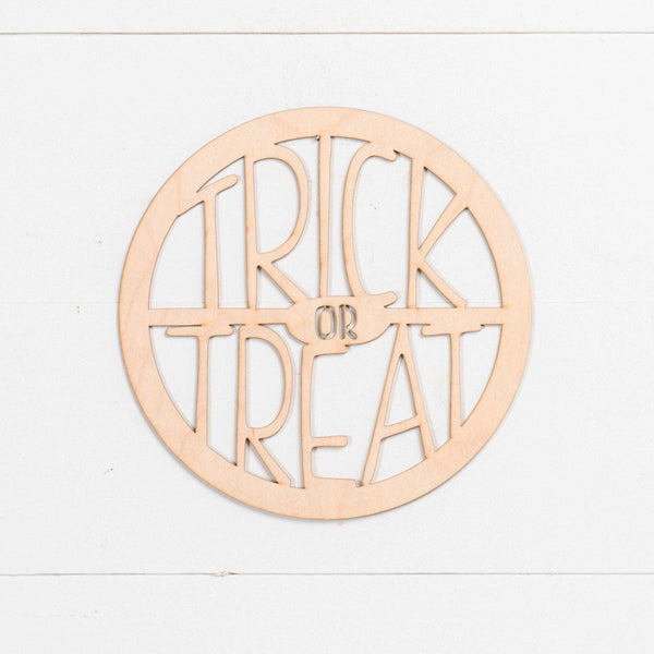 Laser Insert - Trick or Treat