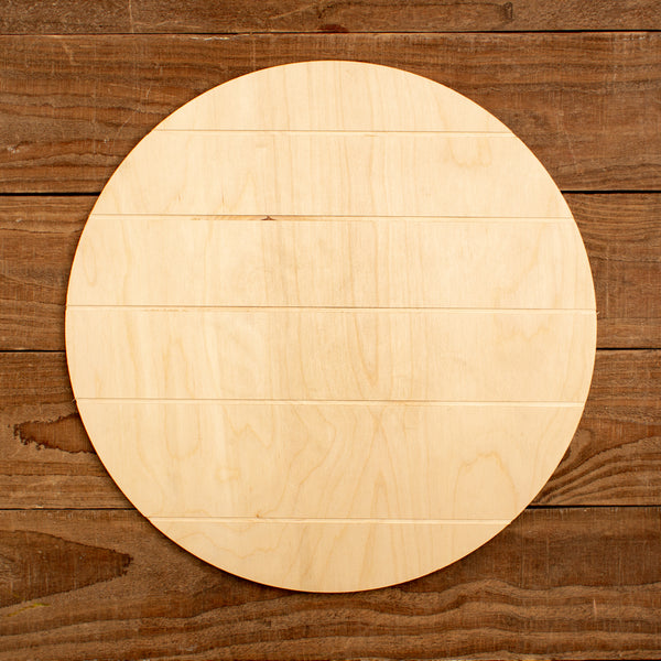 Grooved Circle Canvas - 2 Sizes