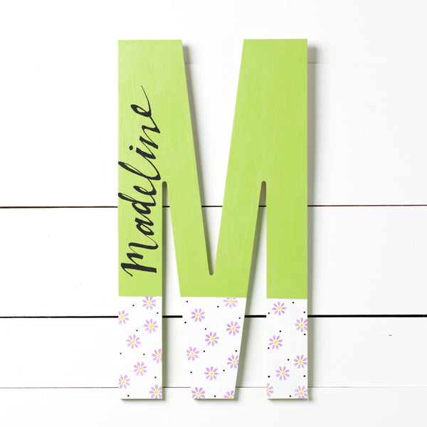 "Market Wood Letters - 18"" Tall"