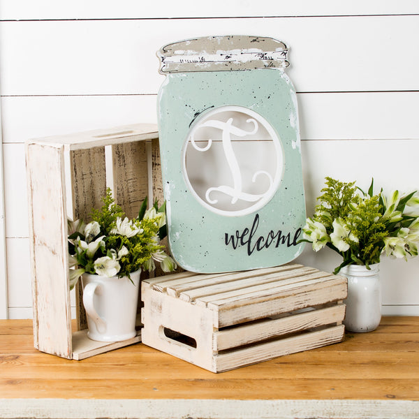 Layered Insert Base - Mason Jar