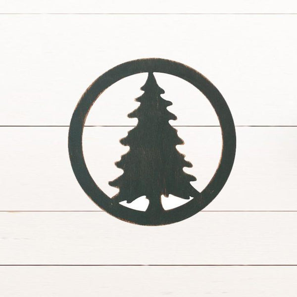 Laser Insert - Fir Tree