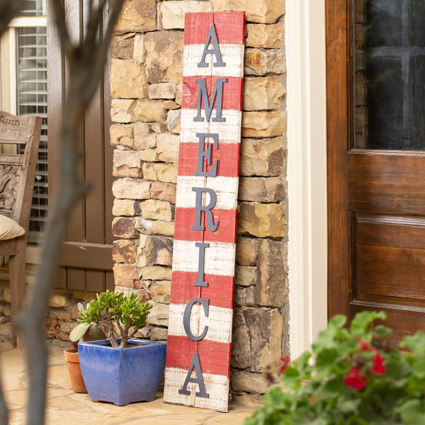 "48"" Pallet Board ""America"" Word Pack"