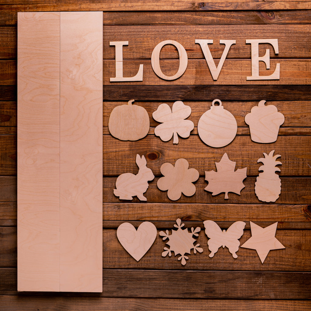 "36"" LOVE sign with Interchangeable Shapes Kit"