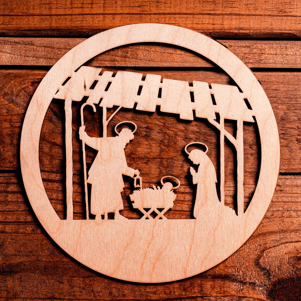 Laser Insert - Nativity