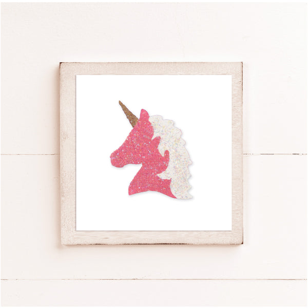 Laser Shape - Unicorn Head