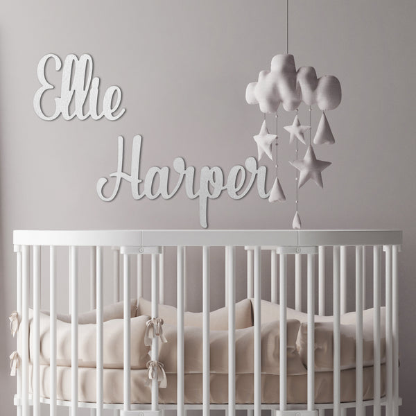 Huge First and Middle Name Decor - 2 Font Styles