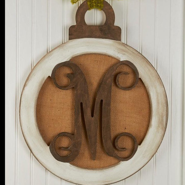 Ornament Vine Monogram