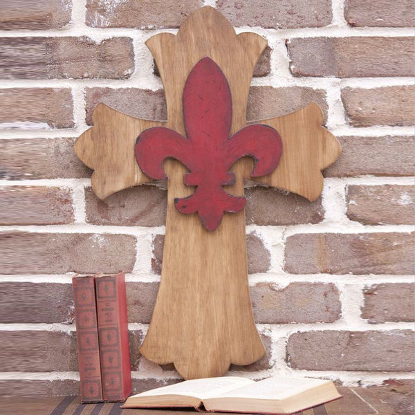 Scalloped Cross - 3 Sizes