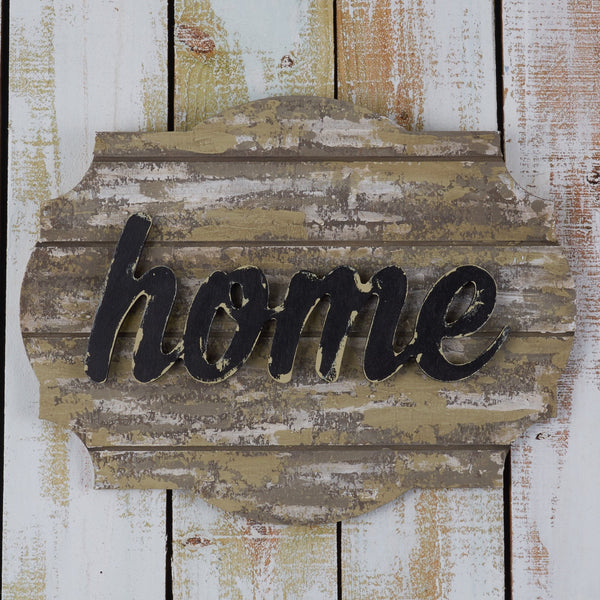 Grooved Sign Canvas