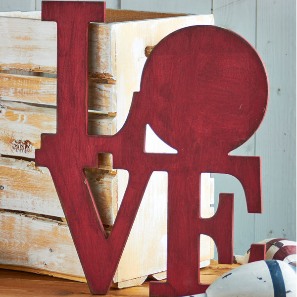 Stacked Love Canvas