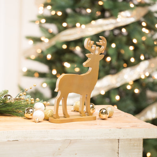 Deer With Stand