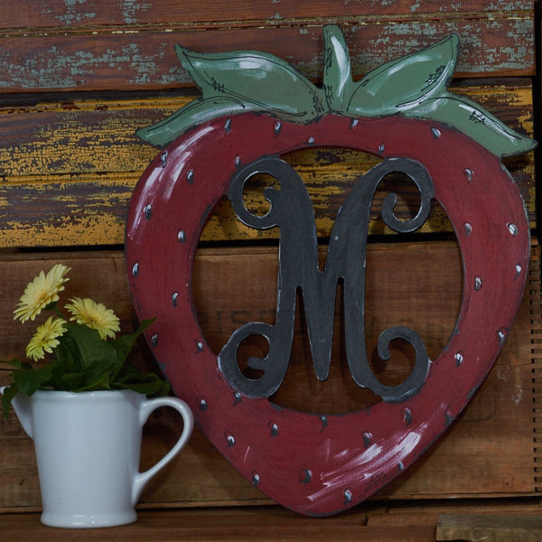 Strawberry Vine Monogram