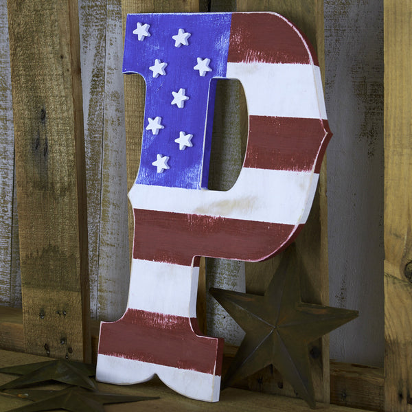 "Western Letters - 6"" Tall"