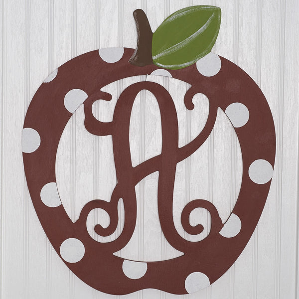 "20"" Apple Monogram"