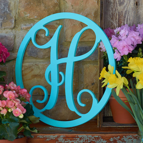 Circle Vine Monogram - 2 Sizes