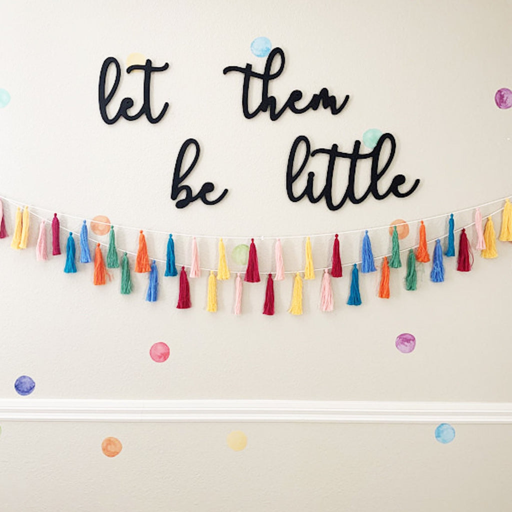 Cursive Let them be little