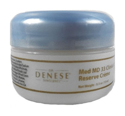 Dr. Denese Med MD 33 Clinical Reserve Crème 0.5 oz - travel size