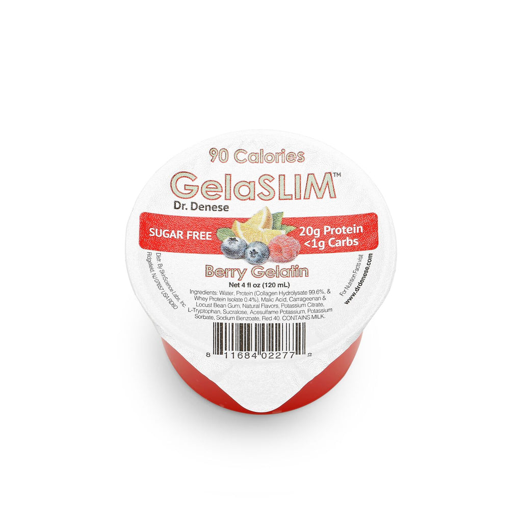 GelaSLIM - Berry Gelatin - 4oz  (18 pack)