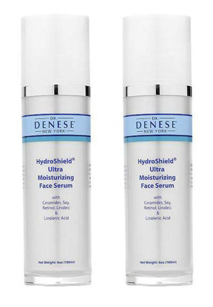 Dr. Denese HydroShield® Ultra Moisturizing Face Serum-6oz Duo
