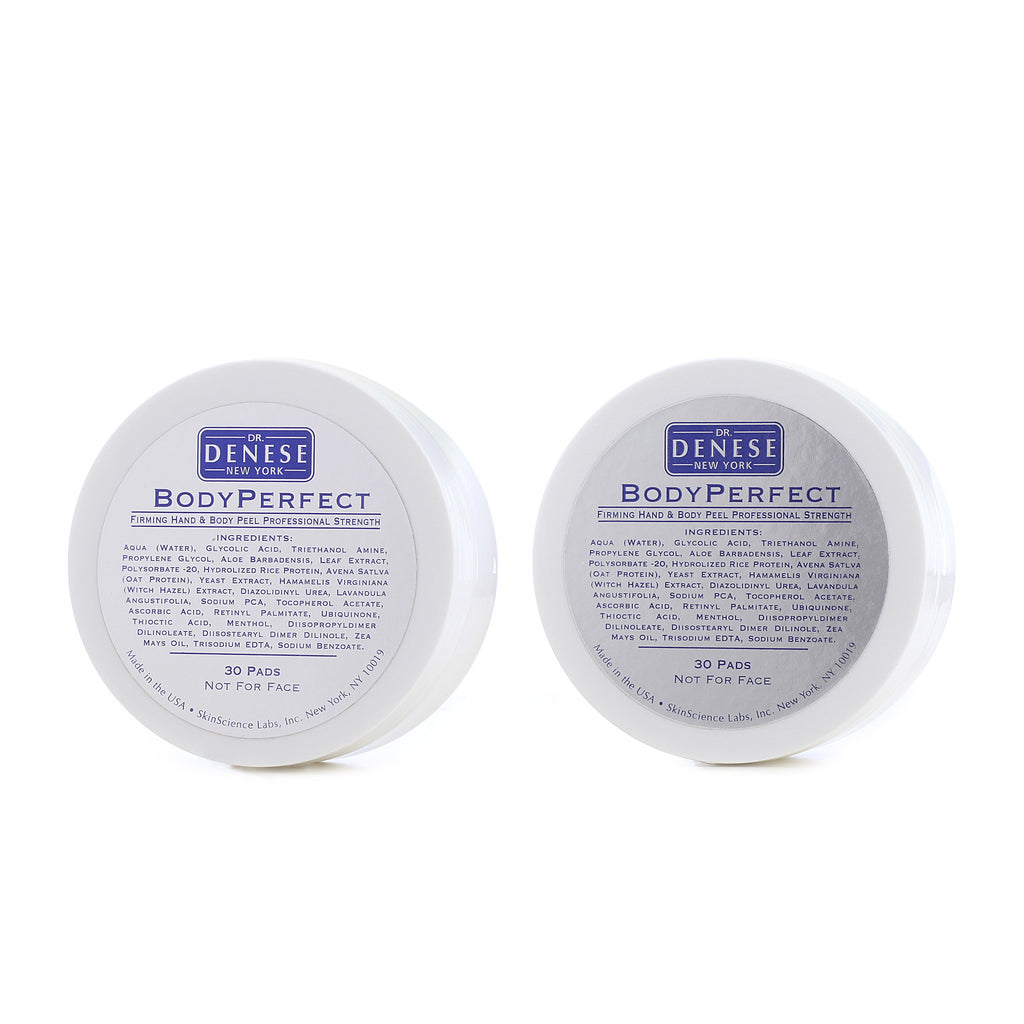 Body Perfect Firming Hand And Body Peel Pads 2-for-1