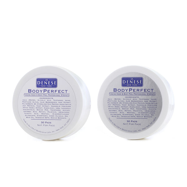 Dr. Denese Body Perfect Firming Hand And Body Peel Pads 2-for-1